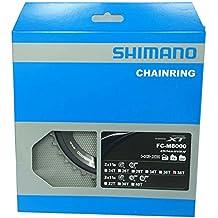 Shimano 38D M8000 XT 11V.DOB.38/28 Plato, Negro, 38/28