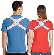 Eworld Smart Posture Corrector Reminder Vibration to Develop a Health Body Posture Adjustable Back Brace far A