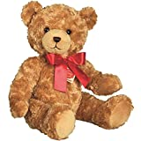 Hermann Teddy Collection 913030 - Plüsch-Teddy mit Brummstimme, 40 cm, gold