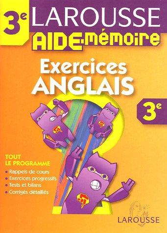 Aide mémoire collèges : Anglais, 3ème
