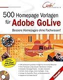 500 Homepage Vorlagen f�r Adobe GoLive Bild