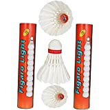 [Sponsored]FL-10 Figaro Light Strong Feather Badminton Shuttlecocks Pack Of Two Boxes ( 10 Shuttlecocks In Every Box).