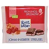 Ritter Sport Frühlings-Spezialität Johannisbeer Streusel (5 x 100g)