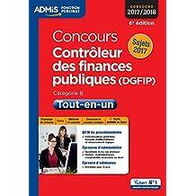 Concours Contrôleur des Finances publiques (DGFIP) - Catégorie B - Tout-en-un - Concours 2017-2018