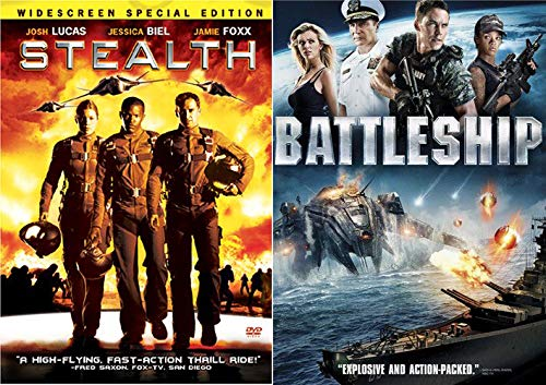 Explosive High Action Thrill Ride - Stealth & Battleship Double Feature 2-Movie Set