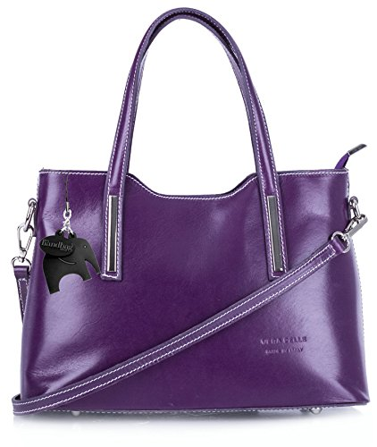 Big Handbag Shop - Borsa a tracolla donna Purple