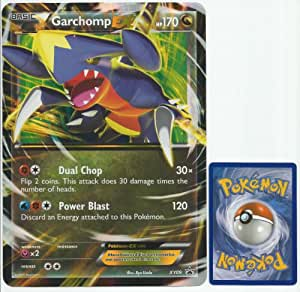 Pokemon Garchomp EX JUMBO OVERSIZED Promo Card From Collection Box [Toy]