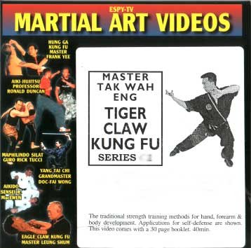 TIGER CLAW KUNG FU VIDEO 1: BASIC WORKOUT & SELF-DEFENSE (Claw Fu Tiger Kung)