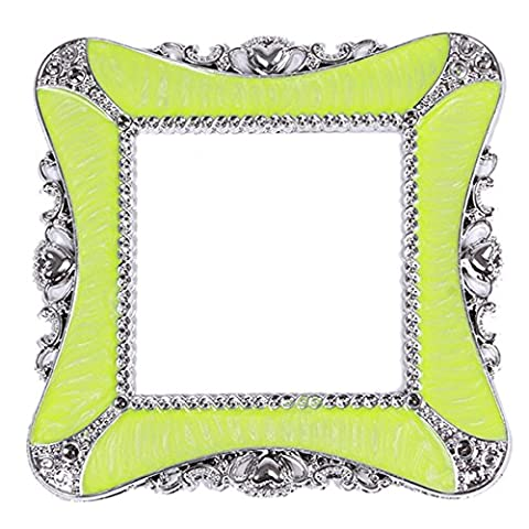 Lalang Colors Plastic Square Luxurious Light Switch Stickers Cover Home Decoration Sticker (green)