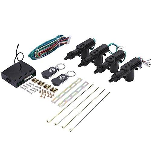 Zerone Zentralverriegelungs-Set für Fernsteuerung oder Entriegelung, Sicherheitssystem, ohne Schlüsseleingang