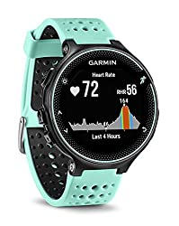 Garmin Forerunner 235 WHR Laufuhr, 24/7 Herzfrequenzmessung am Handgelenk, Smart Notifications, Aktivity Tracker, 1,2 Zoll (3 cm) Farbdisplay, 010-03717-49