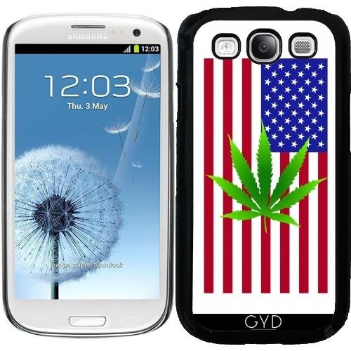 Hülle für Samsung Galaxy S3 (GT-I9300) - American Flag Unkraut by loki1982 (Galaxy Unkraut Samsung Fall S3)
