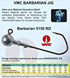VMC Barbarian Jig 5150 RD 3 Stück 4/0 10g