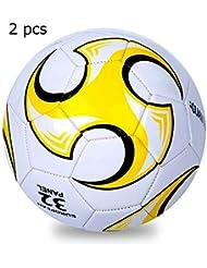 502ad06be4d95 2 Pcs Filles Garçon Ballon De Football Pour Enfants Cadeau De Noël Football  Ballon De Football