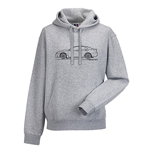 mufflebox Lexus IS-F Men's Car Hoodie, Size: XXL Grey, used for sale  Delivered anywhere in UK