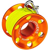Best divers ml0087, Carrete Buceo Unisex – Adulto, Naranja, 30 m