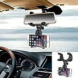 Auto Rückspiegel Hanging Halterung Ständer Cradle Universal 360Grad Auto Halterung Halterung für iPhone und Android Smartphone GPS