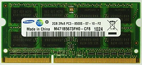 Notebook-Ram 2GB Samsung M471B5673FH0-CF8 PC3-8500S-07-10-F2 ID10886 - Samsung Vista Notebooks