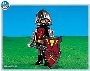 Playmobil - 7769 - Chef des Chevaliers Dragons Rouge - Nouveauté 2014 - Emballage Plastique, pas de boîte