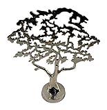 BOLTZE GRUPPE GmbH Dekoration Baum auf Stand Moderne Skulptur Lebensbaum Silber