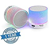 Supreno S10 Bluetooth Speakers With Calling Functions & FM Radio For Android/iOS Devices (Color May Vary)