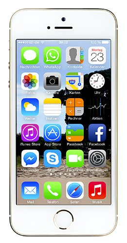 "Apple iPhone 5S - Smartphone libre iOS (pantalla 4"", cámara 8 Mp, 32 GB, Dual-Core 1.3 GHz, 1 GB RAM), dorado"