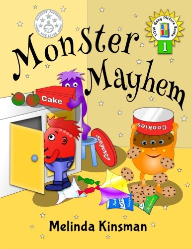 Monster Mayhem: U.S. English Edition - Funny Rhyming Bedtime Story - Picture Book / Beginner Reader (Ages 3-7): Volume 1 (Top of the Wardrobe Gang Picture Books)