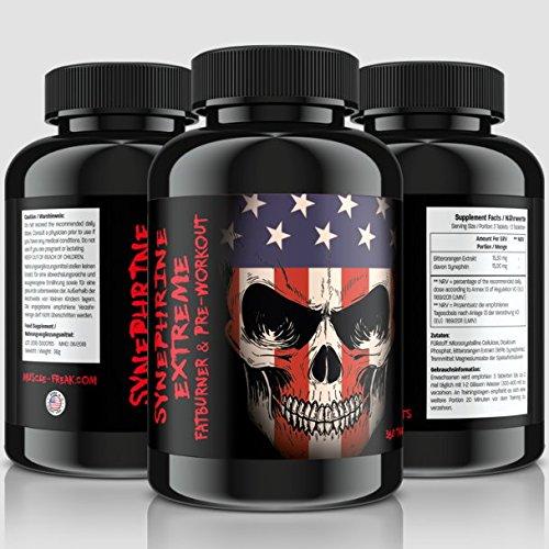 Synephrine-Extreme • 360 Tabletten (vegan) Reines Synephrin • 100% Bitterorangen Extrakt |...