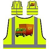 Lieferung Express Personalisierte High Visibility Gelbe Sicherheitsjacke Weste p858v