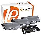 Bubprint 3 Toner & Trommel kompatibel für Brother TN-2120 DR-2100 für DCP-7030 DCP-7040 HL-2140 HL-2150N HL-2170W MFC-7320 MFC-7440N MFC-7840W Schwarz