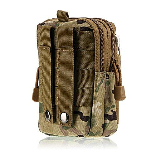 Pawaca Outdoor Reisen Sport Taktische Tasche,Outdoor Sport Tasche Tools Organizer Taille Taschen Pack - Multifunktional für Camping Reise Wandern CP