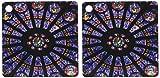 3dRose ventana en Notre Dame Cathedral