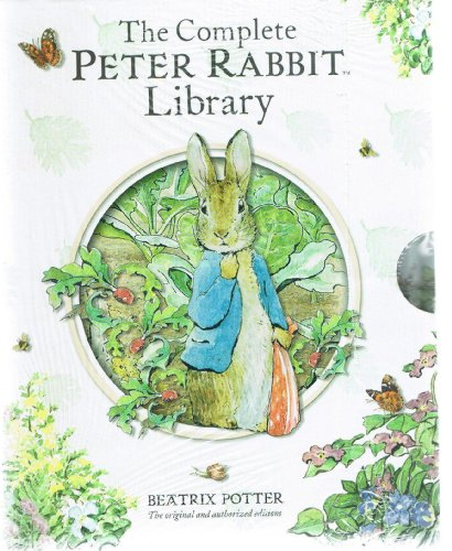 beatrix-potter-the-complete-peter-rabbit-library-23-books-squirrel-nutkin-tailor-of-gloucester-benja