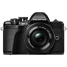 Olympus OM-D E-M10 Mark III - Cámara EVIL de 16.1 MP (4k, FHD, LCD, pantalla abatible, táctil, Wifi, 8.5 imágenes por segundo, OLED) negro - kit con objetivo M.ZUIKO 14-42 EZ