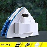 Gmjay Magnetico Regolabile in Vetro a Doppia Faccia Adatto per Soggiorno/Cucina/Bagno/Finestra/Superficie a Specchio,Blue,5-35mm