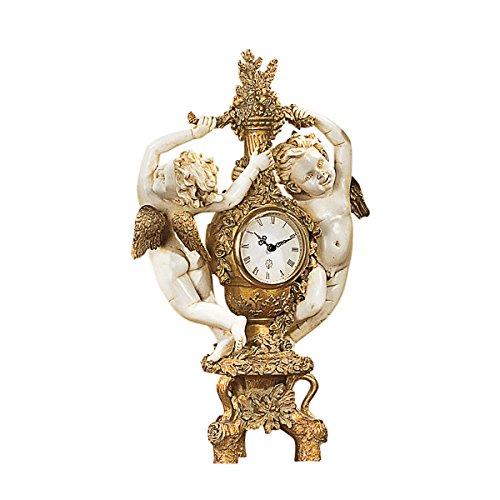 Design Toscano Die Ernte des Cherub, Uhr -