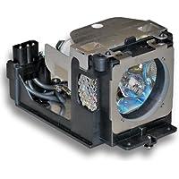 Alda PQ-Premium Lampe mit Geh/äuse Beamerlampe Ersatzlampe f/ür SANYO PLC-XU111 Projektoren