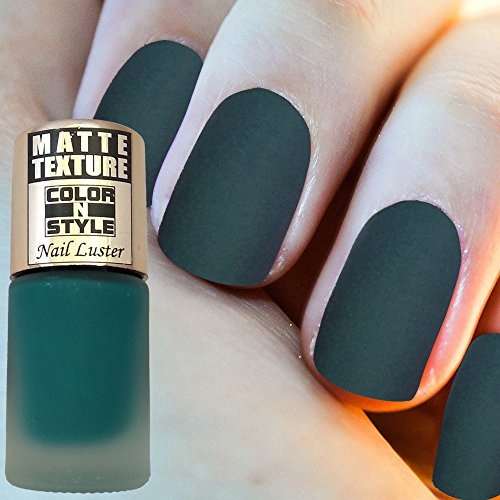 Color N Style Matte Texture Nail Paint Mt 26, Gold, 9.9 Ml