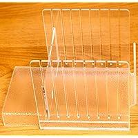 Pan y Bagel cortador guía (transparente) (6