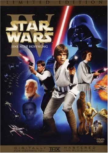 Star Wars: Episode IV - Eine neue Hoffnung (Original-Kinoversion + Special Edition, 2 DVDs) [Limited (Episode Zwei Wars Star)