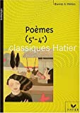 Telecharger Livres Poemes 5eme 4eme (PDF,EPUB,MOBI) gratuits en Francaise