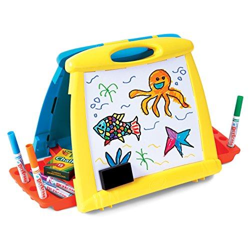 Crayola- Pizarra Caballete Doble Cara 35x32, (5074)
