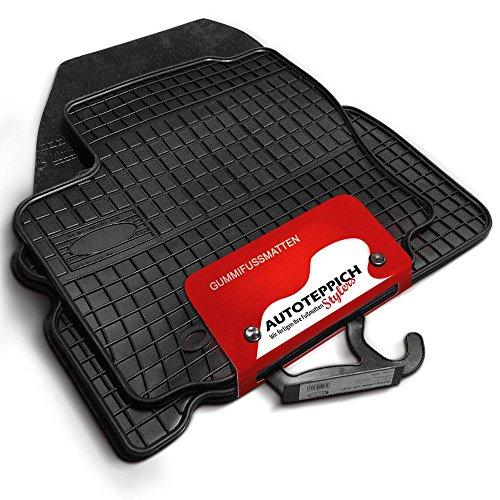 Preisvergleich Produktbild Gummimatten passend für Nissan QASHQAI 1 J10 ab 2007-2013 4tlg