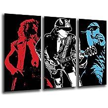 Poster Moderno Fotografico ACDC, Musica Rock, 97 x 62 cm, ref. PST26108
