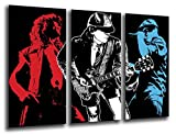 Poster Moderno Fotografico ACDC, Musica Rock, 97 x 62 cm, ref. PST26108