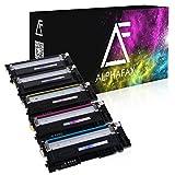5 Toner für Samsung CLP-360 N ND Series 365 W CLX-3300 3305 FN FW W Series Xpress C410 C460 FW W Series - CLT-K406S C406S M406S Y406S - Schwarz je 1.500 Seiten, Color je 1.000 Seiten