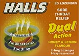 Halls Dual Action Honey & Lemon Flavour Sore - Best Reviews Guide