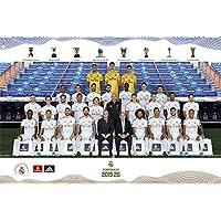 Grupo Erik - Póster Plantilla Real Madrid 2019/2020 (91,5 x 61 cm), Multicolor