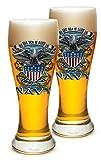 Set von 2United States Navy USN, die Meer ist Ours 23Oz Pilsner Pub Gläser