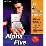 ALPHA SOFTWARE AlphaFive Home Edition (Windows)